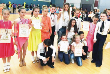 """Танцьорите на """"Импулс"""" с 6 медала от международния турнир в Пловдив"""