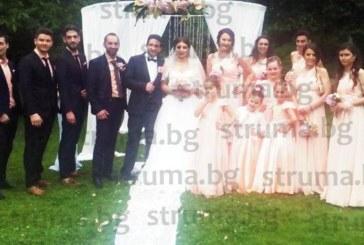 Собственици на шивашки фирми се ожениха в Сандански на сватба с 200 гости