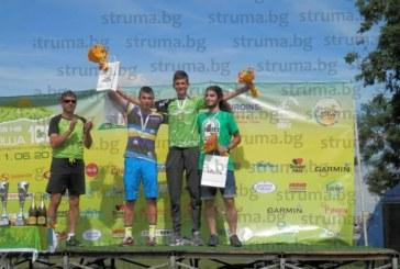 Петричанин №1 в колоездачната обиколка на Витоша при юношите