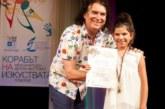 """Малката звезда на Благоевград завоюва 3 в 1 – море, златен медал и откриване на галаконцерт на международния фестивал """"Корабът на изкуствата"""""""