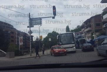 Катастрофа в Сандански! Автобус се удари в кола
