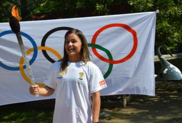 Олимпийският огън бе запален в Благоевград, начело на почетна обиколка застана Елица Янкова