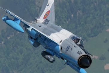 НОВА ДРАМА ВЪВ ВЪЗДУХА! МиГ 21 се разби край Констанца