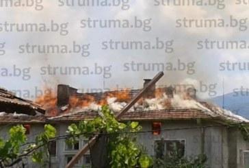 Подробности за пожара в Първомай! 2 социално слаби семейства остават на улицата