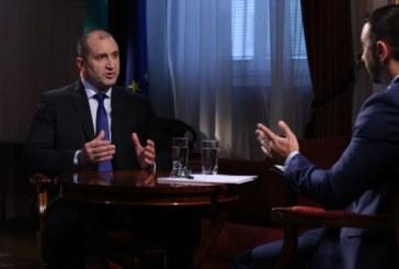 Президентът: Ще поканя Владимир Путин у нас догодина