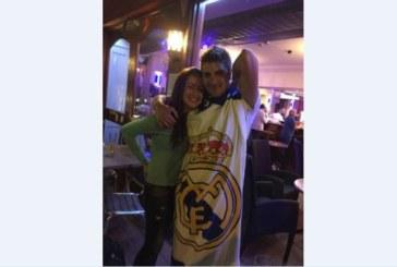 """Бивш футболист на """"Места"""" и приятелката му от Гоце Делчев отпразнуваха евротитлата на """"Реал"""" в пъб на остров Джърси"""