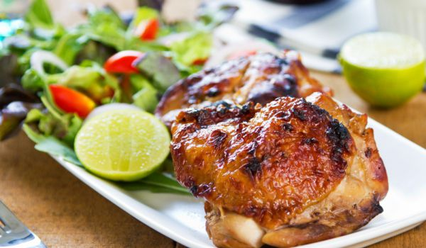 Люто сочно пиле
