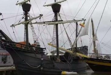 Български ветроходен кораб се заби в испански