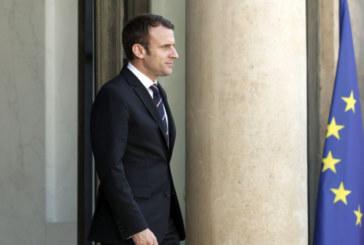 Партията на Макрон получава 32% на първия тур във Франция