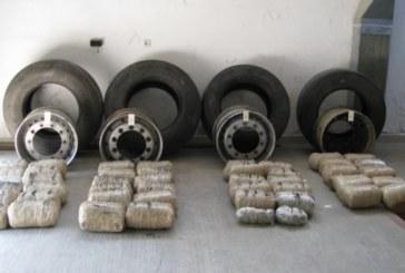 Почти 100 кг наркотик скри тираджия в резервните гуми