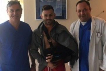 Операция на раменната става извади орлето от с. Ключ С. Делев от терените за 3 месеца