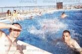 След важна победа благоевградските бейзболисти разпуснаха в басейн на покрив в Испания