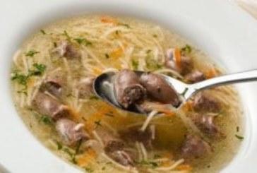 Супа от пилешки сърца