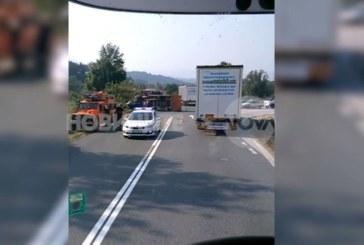 Трагедията е пълна! Почина и жената, ранена в катастрофата на Е-79 (Видео)