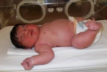 Голямото бебе от Пловдив се родило месец по-рано