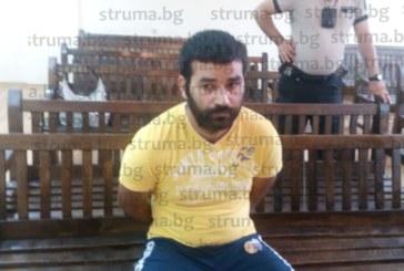 Благоевградчанин арестуван след двоен екшън с роднини, пребил с бухалка семейството на чичо си на именния му ден