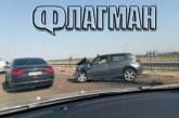 """От последните минути: Тежка катастрофа на """"Тракия"""": Жена загина, трима са ранени"""