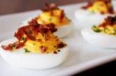 Пълнени яйца с бекон