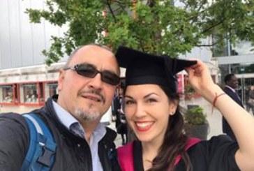 Адвокат Иван Димитров – най-щастливият татко на дипломирането на дъщеря си Виктория