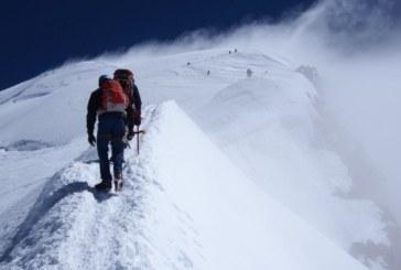 Алпинистка загина, ударена от гръм в Алпите