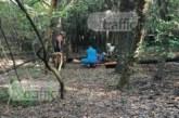 Полицаи разпитват хора в парк Лаута, с кучета търсят оръжието на престъплението