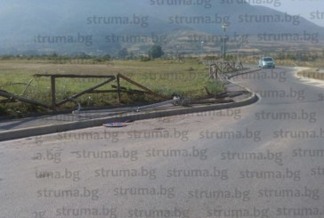 """Фадрома премаза """"Ауди"""" на кикбоксьор на входа на парка в Дупница, отказали й спирачките"""