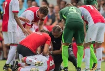 КОШМАРНИ НОВИНИ! Футболист с тежки мозъчни увреждания след колапс