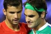 Григор се срина пред класата на Федерер