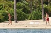 Меси кара чуден меден месец на Карибите /СНИМКИ/
