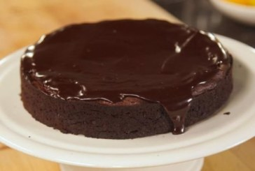 Кекс с течен шоколад