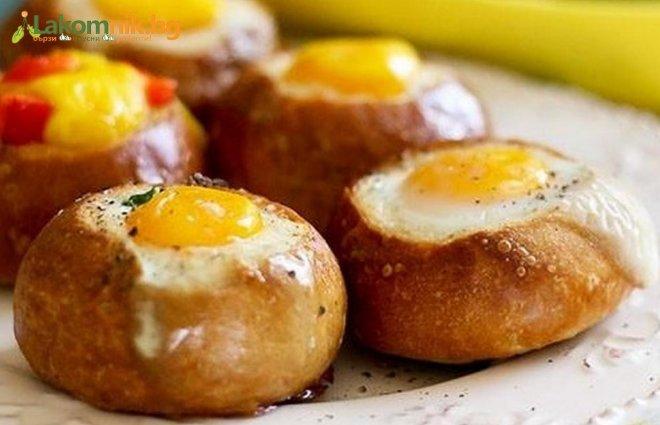 Яйца в питка