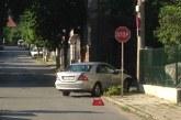 Две коли в сблъсък в Кюстендил, трафикът затруднен