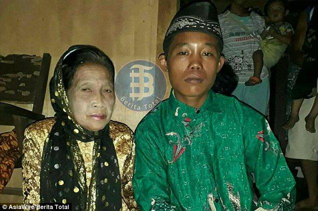 Тийнейджър се ожени за 71-годишната си любима, искал да се трови заради нея