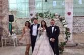 Пред 300 гости синът на ексшефа на полицията в Сандански Б. Петров – Боян, и любимата му Стефани сключиха брак в Епископската базилика