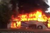 Туристите са извадени от горящия автобус, шофьор-герой спасил пътниците от огнения ужас