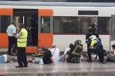 Ексклузивно! Жестока влакова катастрофа в Барселона, 48 ранени