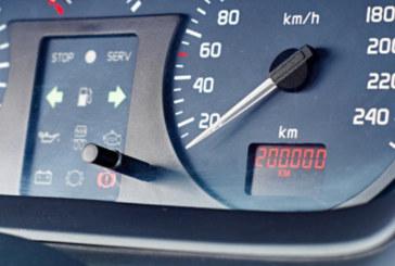 Край на превъртения километраж на колите на старо