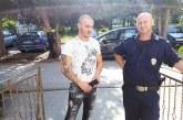 Санданският полицай К. Гушев стана дядо на прекрасна внучка