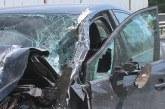 ЗВЕРСКА КАТАСТРОФА НА Е-79! Кола се вряза в ТИР край Симитли, има ранен (СНИМКИ)