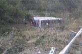 Автобус излетя от пътя! Има загинал и ранени