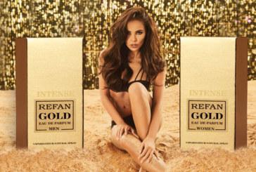 Парфюмите REFAN INTENSE GOLD са изненадващо продължение на серия GOLD с дълготрайния Intense подпис на REFAN