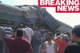 Страшна трагедия! Два влака в сблъсък, има много загинали