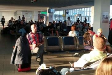 """Ад на летище София! Пътници на """"България Ер"""" чакат над 15 часа самолет за Франкфурт"""
