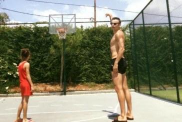 Бербо отказа футбола, стана баскетболист /СНИМКА/