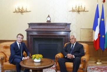 Борисов и Макрон: България е готова за еврозоната