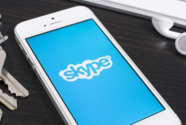 Skype в Европа се срина