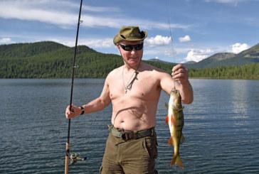 Ето така Путин лови риба /СНИМКИ/