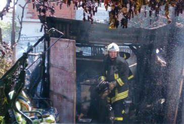 """САМО В STRUMA.BG! Подробности за огнения инцидент в """"Грамада"""", пострада бащата на футболист от """"Пирин""""/Бл/"""