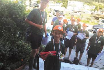 Деца от 4 града мериха сили в състезание по риболов в Якоруда, най-малкият участник, 8-г. Алекс Лазаров от Благоевград, с приз за най-голяма риба