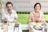 Джаз примата Йълдъз Ибрахимова репетира два часа с Биг Бенд Благоевград, обядва тиквички